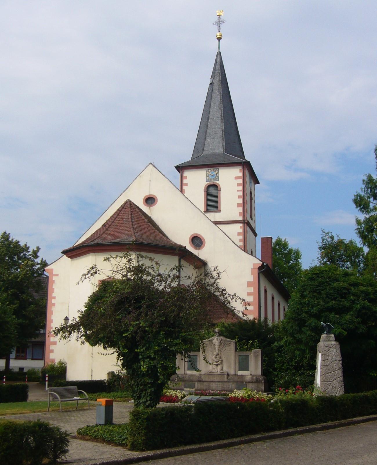evangelische stadtkirche rastatt