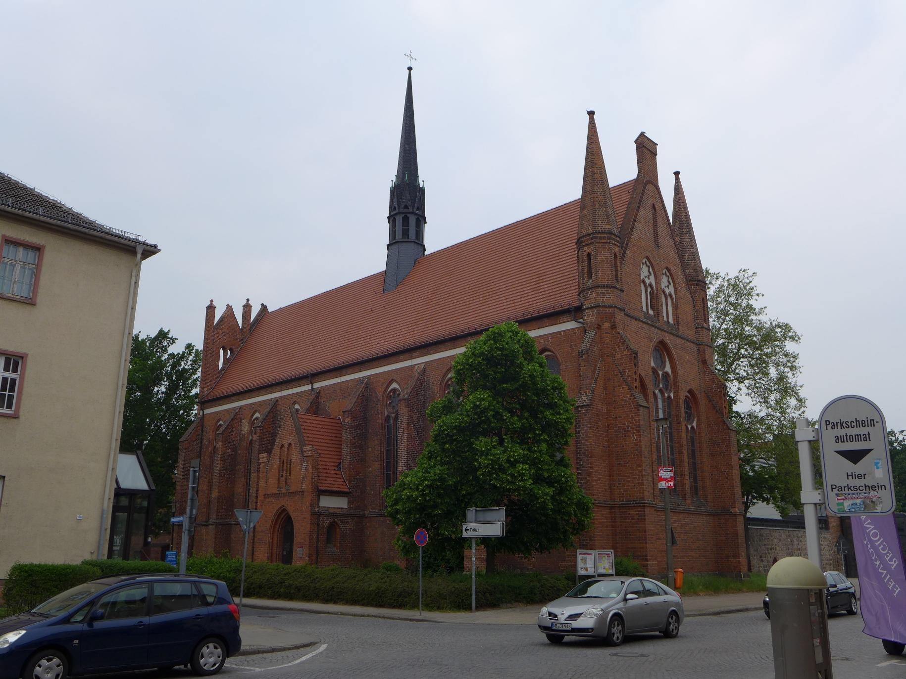 westgiebel klosterkirche eldena